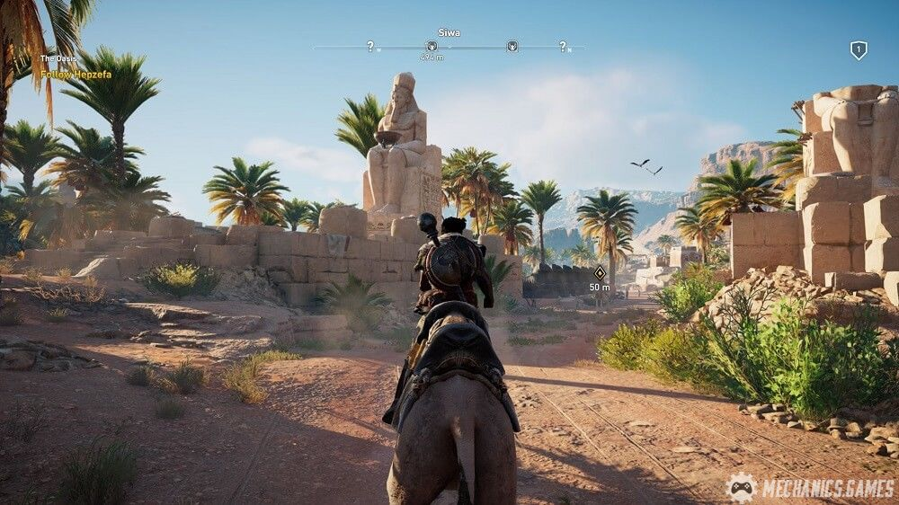 Скрин Assassin's Creed: Origins от R.G. МЕХАНИКИ