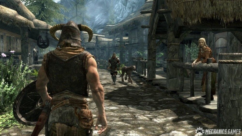 Скриншон The Elder Scrolls V: Skyrim от R.G. МЕХАНИКИ